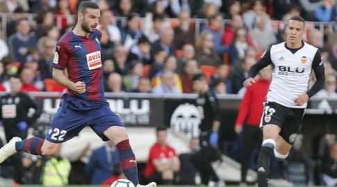 דויד לומבאן עם הכדור (La Liga)