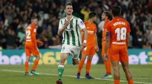פביאן רואיס חוגג (La Liga)