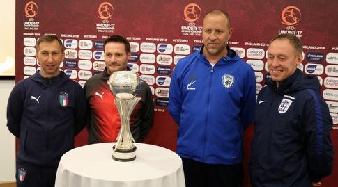 גדי ברומר ומאמני שאר הנבחרות (ההתאחדות לכדורגל) (מערכת ONE)