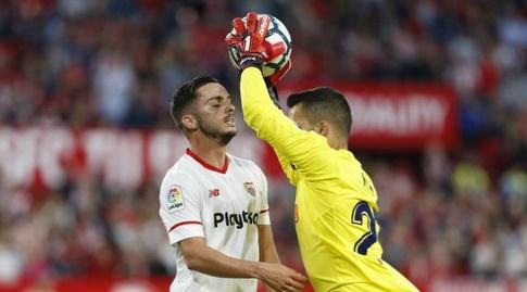 פאבלו סראביה מול מיגל אנחל מויה (La Liga)