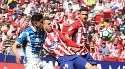 לוקאס הרננדס וג'רארד מורנו (La Liga)