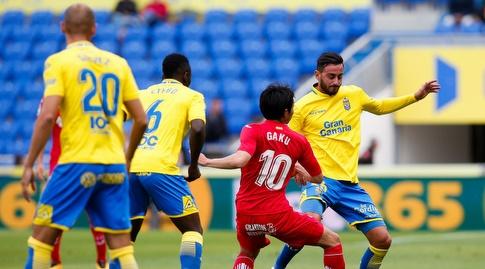 גאקו שיבאסקי מנסה לחסום (La Liga)
