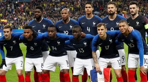 נבחרת צרפת מודל 2018 (רויטרס)