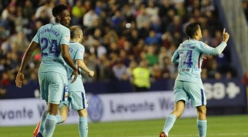 פיליפה קוטיניו חוגג (La Liga)