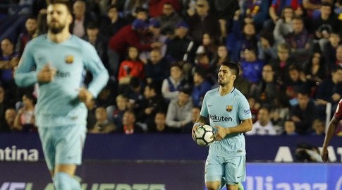 לואיס סוארס ופיקה, לא היו רחוקים מלהשאיר את השיא בחיים (La Liga)
