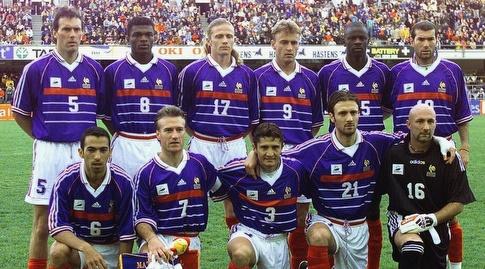 נבחרת צרפת מודל 1998 (רויטרס)
