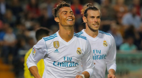 יש להם מאמן חדש. רונאלדו ובייל, שחקני ריאל מדריד (רויטרס)