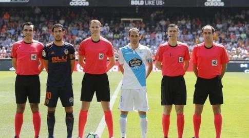 שני הקפטנים והשופטים (La Liga)