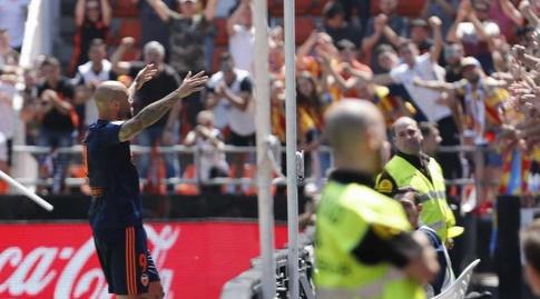 סימונה זאזה חוגג (La Liga)