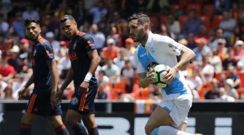 לוקאס פרס חוגג את השער המצמק (La Liga)