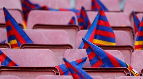 הדגלים בקאמפ נואו (La Liga)