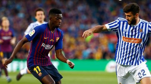אוסמן דמבלה מול ראול נבאס (La Liga)