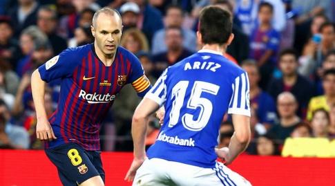 אנדרס אינייסטה מול אריץ אלוסטונדו (La Liga)
