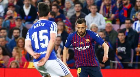 ג'ורדי אלבה על הקו (La Liga)