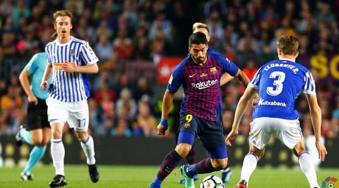 לואיס סוארס בין שחקני סוסיאדד (La Liga)
