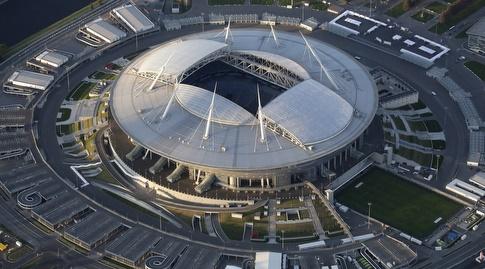 האצטדיון בסנט פטרסבורג (רויטרס)