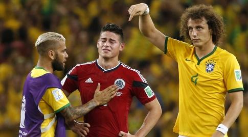חאמס רודריגס בוכה בברזיל (רויטרס)