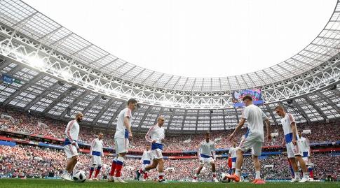 רוסיה מתכוננת למשחק (רויטרס)