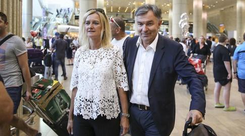 וילי רוטנשטיינר ואשתו (איציק בלניצקי)
