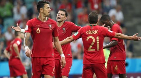 שחקני פורטוגל. ההגנה לא תפקדה (רדאד ג'בארה)