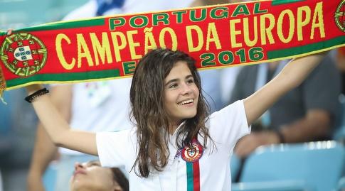 אוהדות פורטוגל. הגיעו למשחק עם הרבה ציפיות (רדאד ג'בארה)