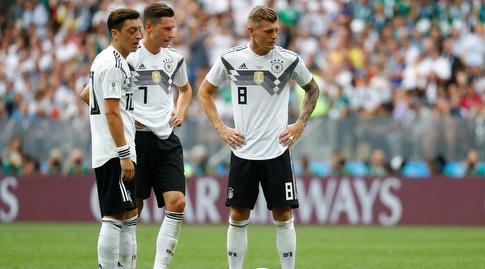 שחקני גרמניה בהלם (רויטרס)