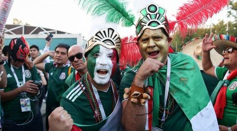 אוהדי מקסיקו באופוריה (רדאד ג