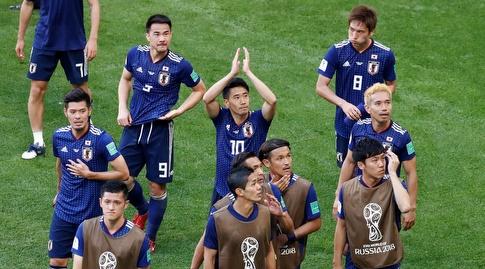 שחקני נבחרת יפן. יגיעו עם סגל צעיר לקופה (רויטרס)