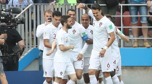 נבחרת פורטוגל חוגגת (רדאד ג'בארה)