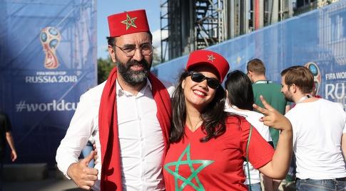 אוהדי נבחרת מרוקו (רדאד ג'בארה)