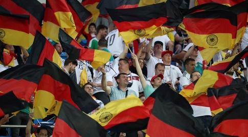 אוהדי גרמניה (רויטרס)