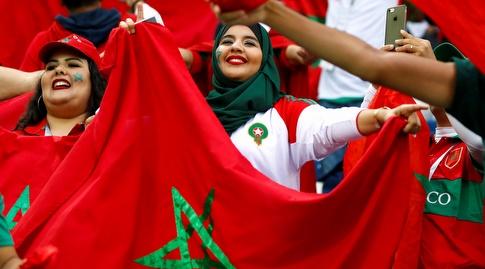 אוהדות מרוקו (רויטרס)