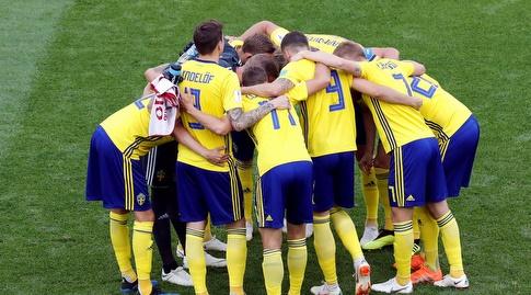 שחקני נבחרת שבדיה (רויטרס)