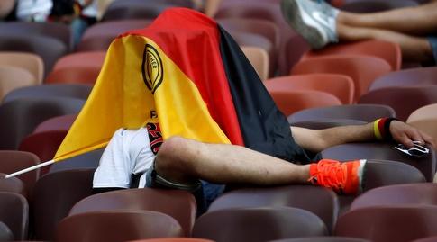 אוהד גרמניה רוצה להיעלם (רויטרס)