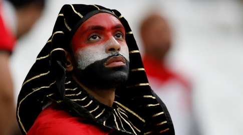 אוהד מצרי מאוכזב (רויטרס)