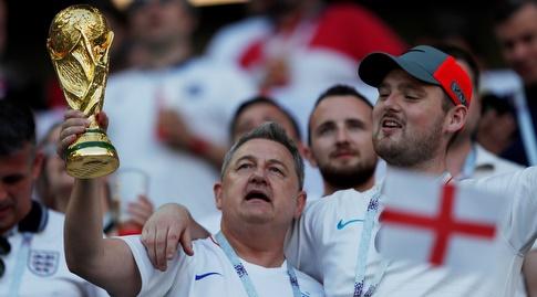 אוהדי אנגליה חולמים על הגביע. שוב (רויטרס)