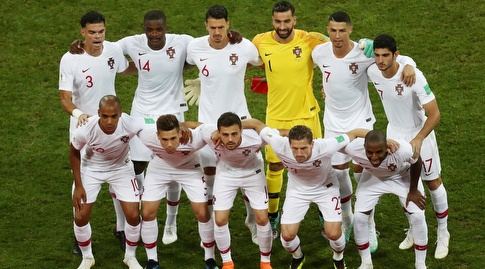 התמונה הקבוצתית של נבחרת פורטוגל (רויטרס)