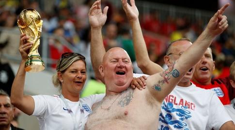 אוהדי נבחרת אנגליה (רויטרס)