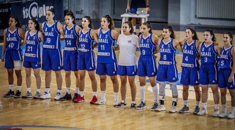 נבחרת העתודה נשים (באדיבות איגוד הכדורסל)