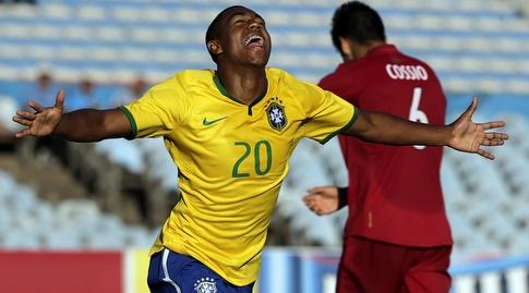 מלקום בנבחרת ברזיל עד גיל 20 (רויטרס)