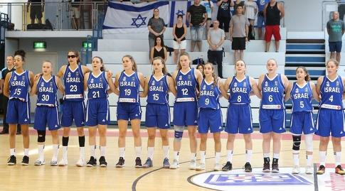 נבחרת הנערות של ישראל (באדיבות איגוד הכרוסל)