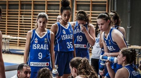 נבחרת הנערות (באדיבות איגוד הכדורסל)