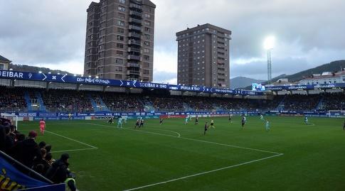 אצטדיון איפורואה באייבר/ המגרש הקטן בליגה הספרדית (רויטרס)