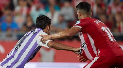 חואנפה רמירס מנסה להגיע לכדור (La Liga)