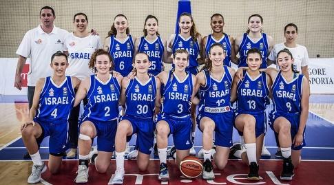 נבחרת הקדטיות של ישראל (דוברות איגוד הכדורסל)