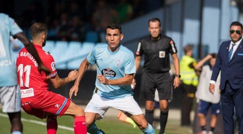 לאו בפטיסטאו מנסה להשיג את הכדור (La Liga)