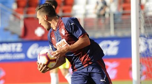 גונסאלו אסקלנטה חוגג (La Liga)