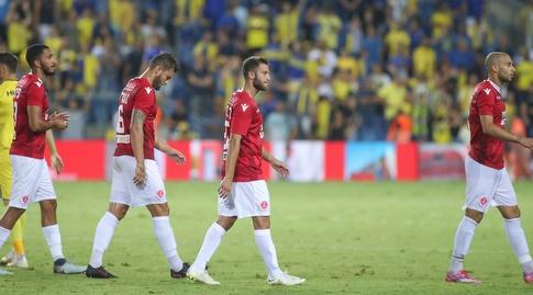 שחקני הפועל תל אביב מאוכזבים (רדאד ג'בארה)