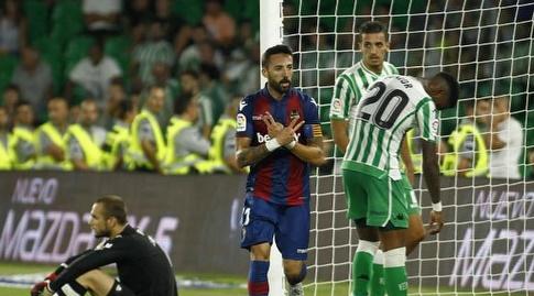 לבאנטה חוגגת על חשבון בטיס במחזור הראשון (La Liga)