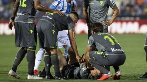 דייגו יורנטה נאנק מכאבים (La Liga)